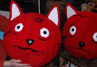 red cat work in progres